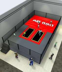 Themed airbag Trampoline park CH-ST160026