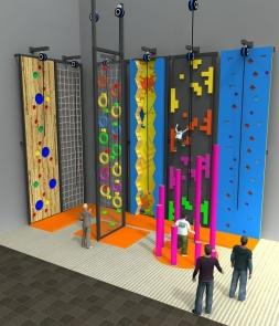 Custom climbing Wall CH-ST160015