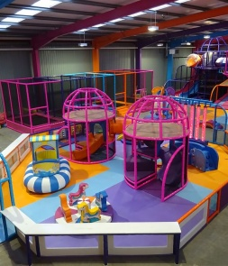 Custom Indoor Soft Playground in UK CH-RS160301