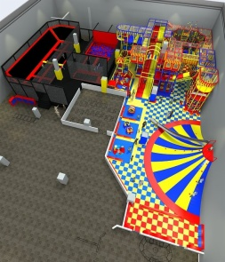 Indoor playground and Trampoline Park of Combo CH-ST160039