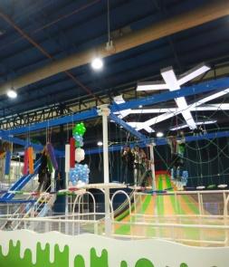Indoor Rope Course