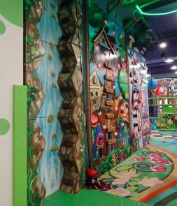 Soft Climbing wall Combo for Kids