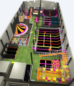 New Trampoline Park Solution CH-ST160007