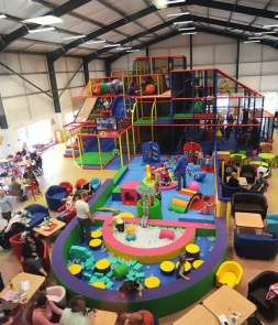 Priateship Themed Indoor Playground Structure CH-RS160313
