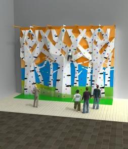 LED Tree climbing Wall CH-RF160001