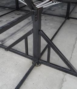 Trampoline Parts Box Steel CH-ST160063
