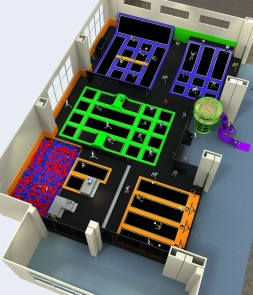 Professional Trampoline Park CH-ST160003