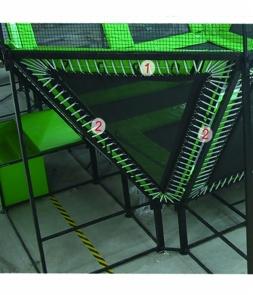 Triangle trampoline mat CH-ST160062